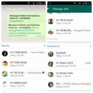 whatsapp Group Text message features