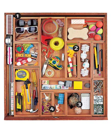Organization Ideas For Junk Drawers: 31 Days Of Organizing: Day 5 (Like With Like)
