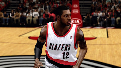 NBA 2K13 LaMarcus Aldridge Cyberface 2K Patch