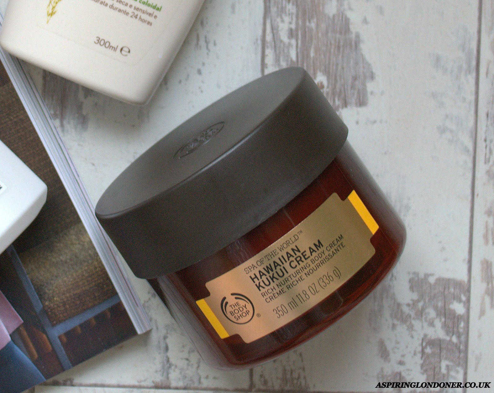 The Body Shop Spa of the World Hawaiian Kukui Cream Review - Aspiring Londoner