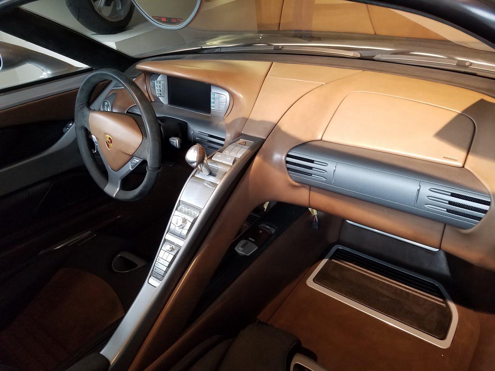 Jerry Seinfeld Porsche Carrera GT