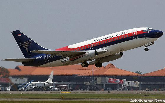 Armada Pesawat Milik PT.Sriwijaya Air Siap Melayani Pemudik