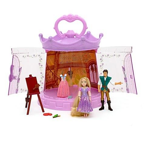 disney princess play set enredados de disney store. Black Bedroom Furniture Sets. Home Design Ideas