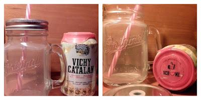 jarra pajita agua gas vichy