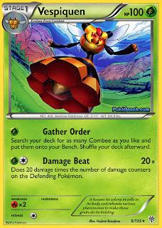 Vespiquen Plasma Storm Pokemon Card