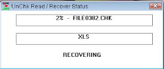 Mengembalikan File CHK