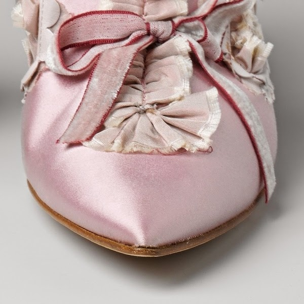 Shoes made for the film Marie Antoinette by Sofia Coppola, made by Manolo Blahnik
