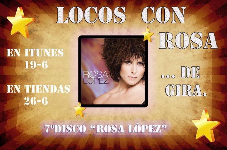 LOCOS CON ROSA..........(ROSA DE GIRA)
