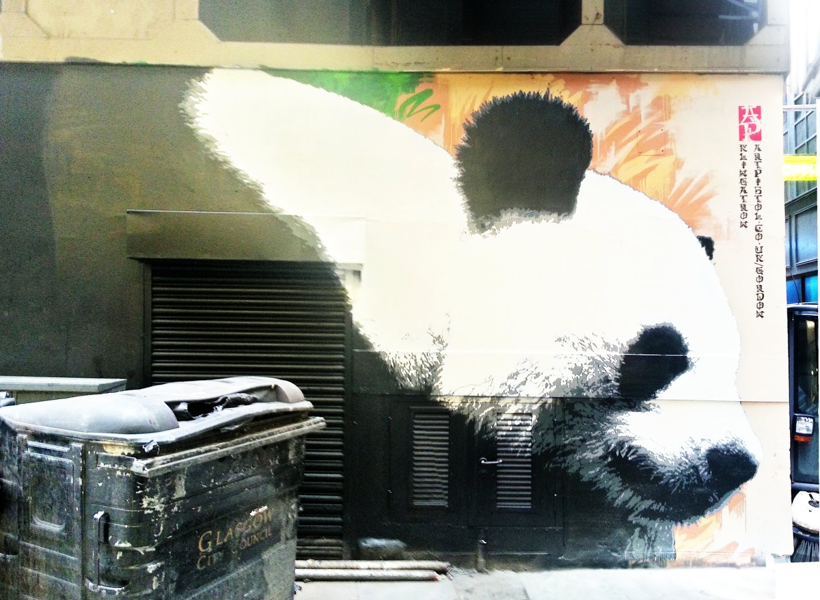 Gordon Lane Panda, Glasgow