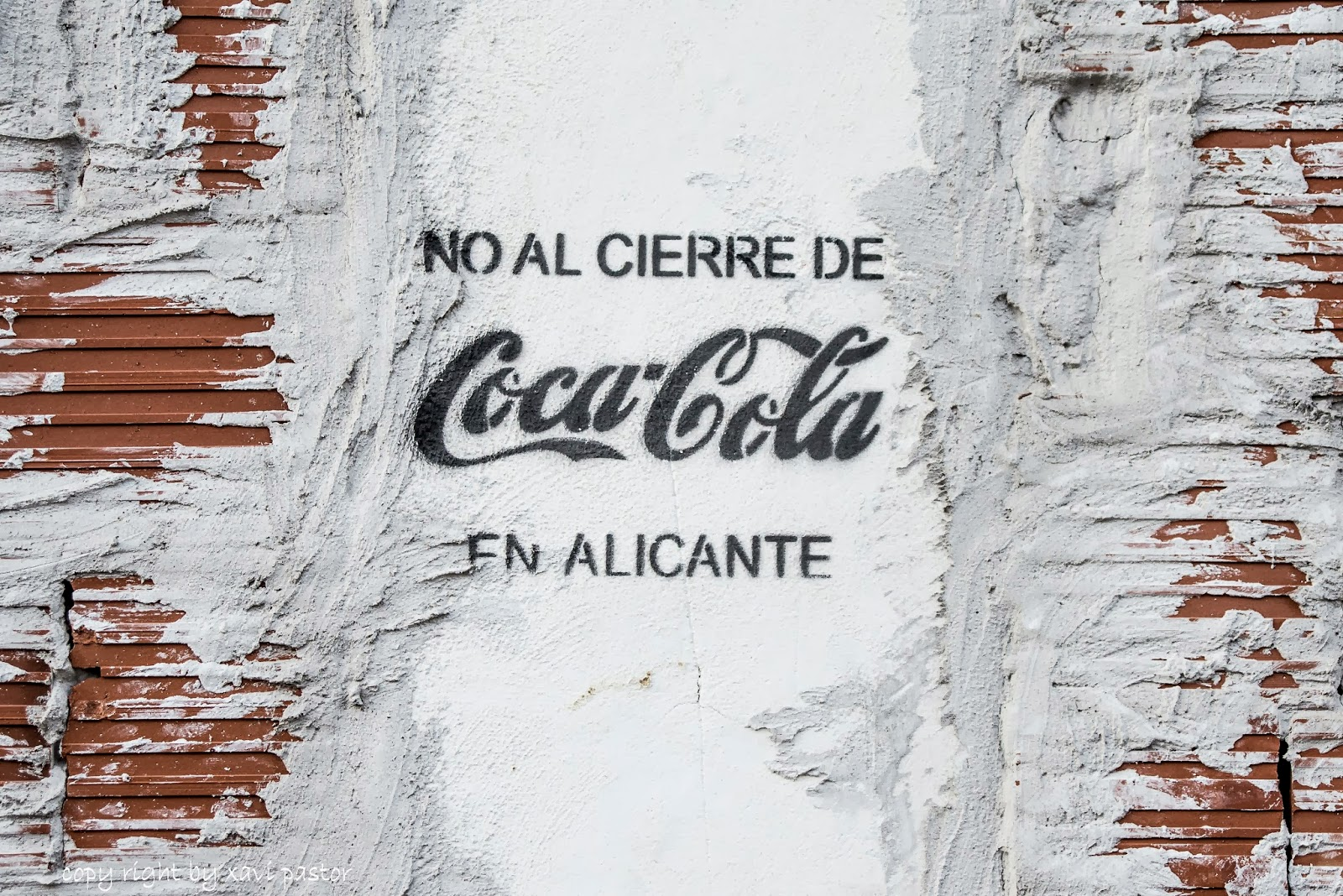 alicante, boicot coca cola, cierre