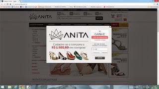 Calçados ANITA ONLINE tem promoções fantasmas e não entregam os pedidos já pagos.