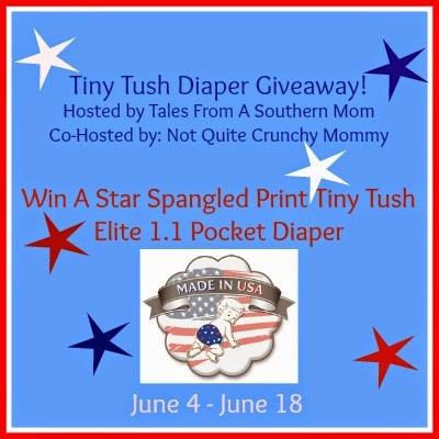 Tiny Tush Diaper Giveaway