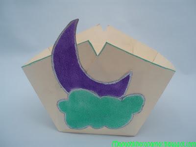 cajita luna handmade