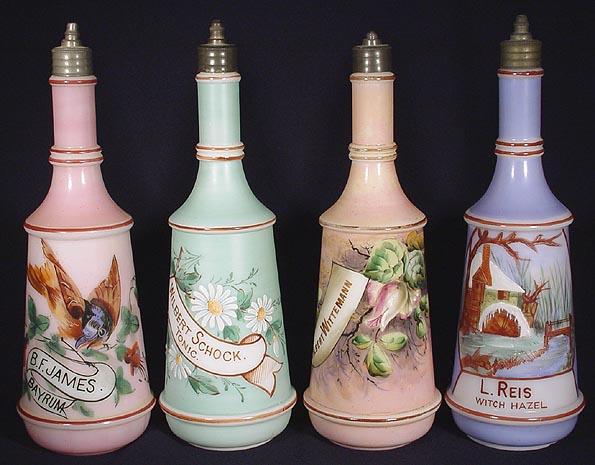 Antique Barber Bottles3