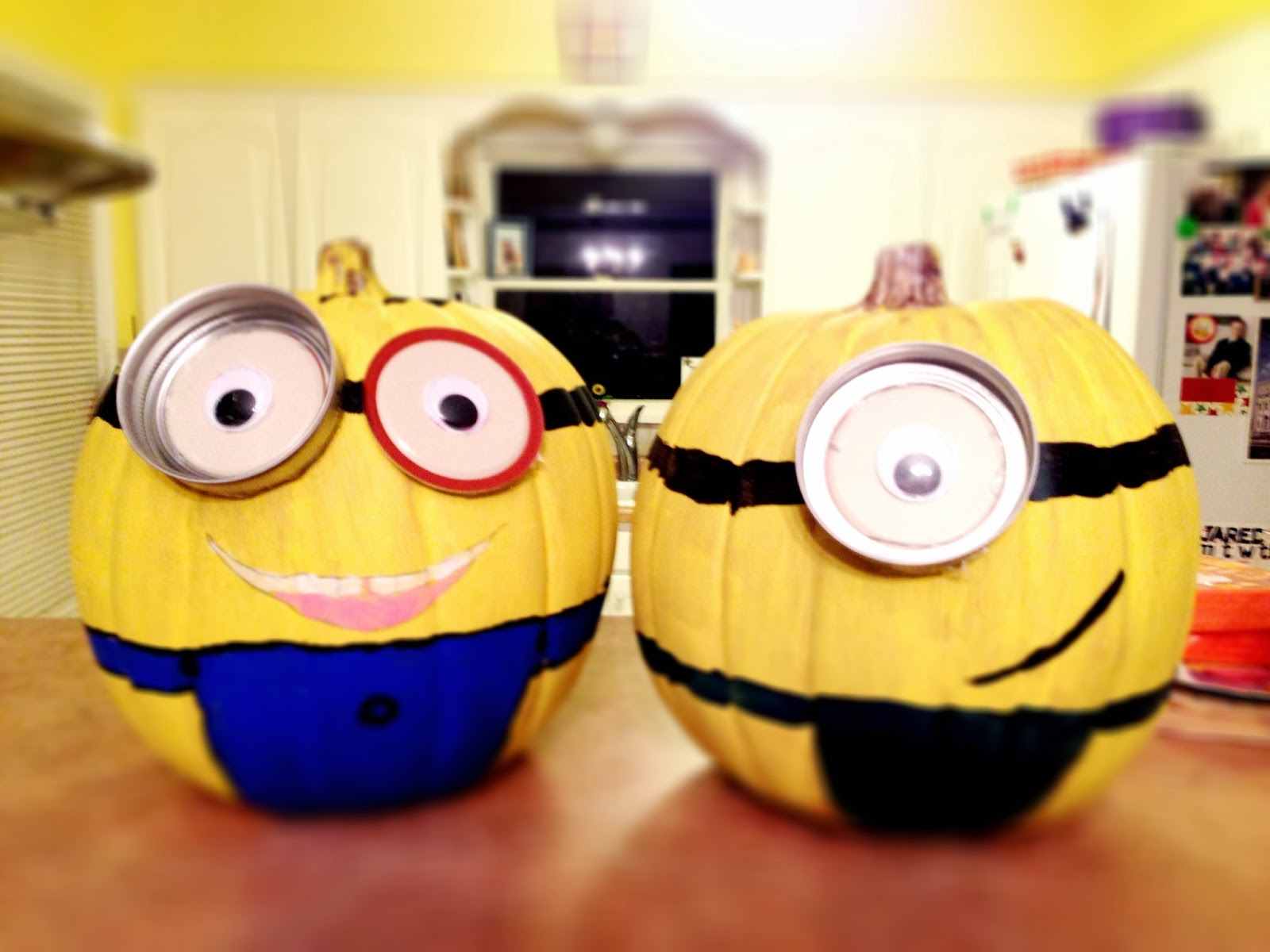 Painted Minion Pumpkins The Peruvian Mom Recipes Snow White Halloween Birthday Party