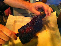 Giant beef rib from Barn& Company in Chicago