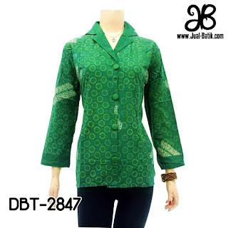 Blouse Batik Wanita DBT-2847