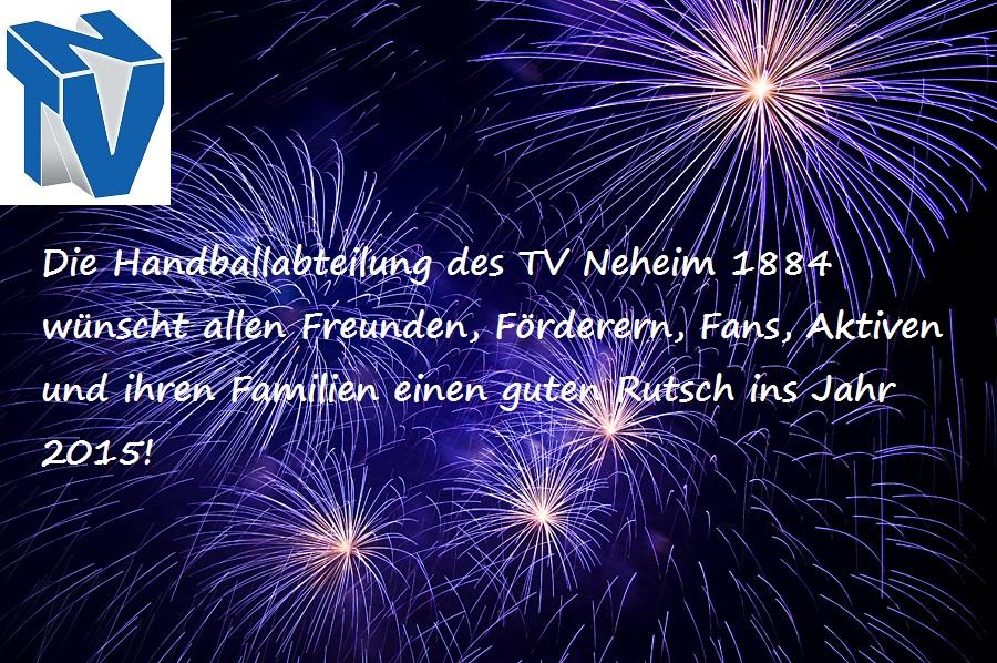 Handball in Neheim: Guten Rutsch ins neue Jahr!