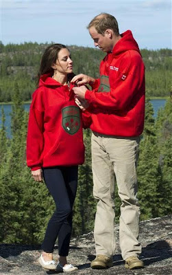 kate middleton style canadian rangers sweatshirt