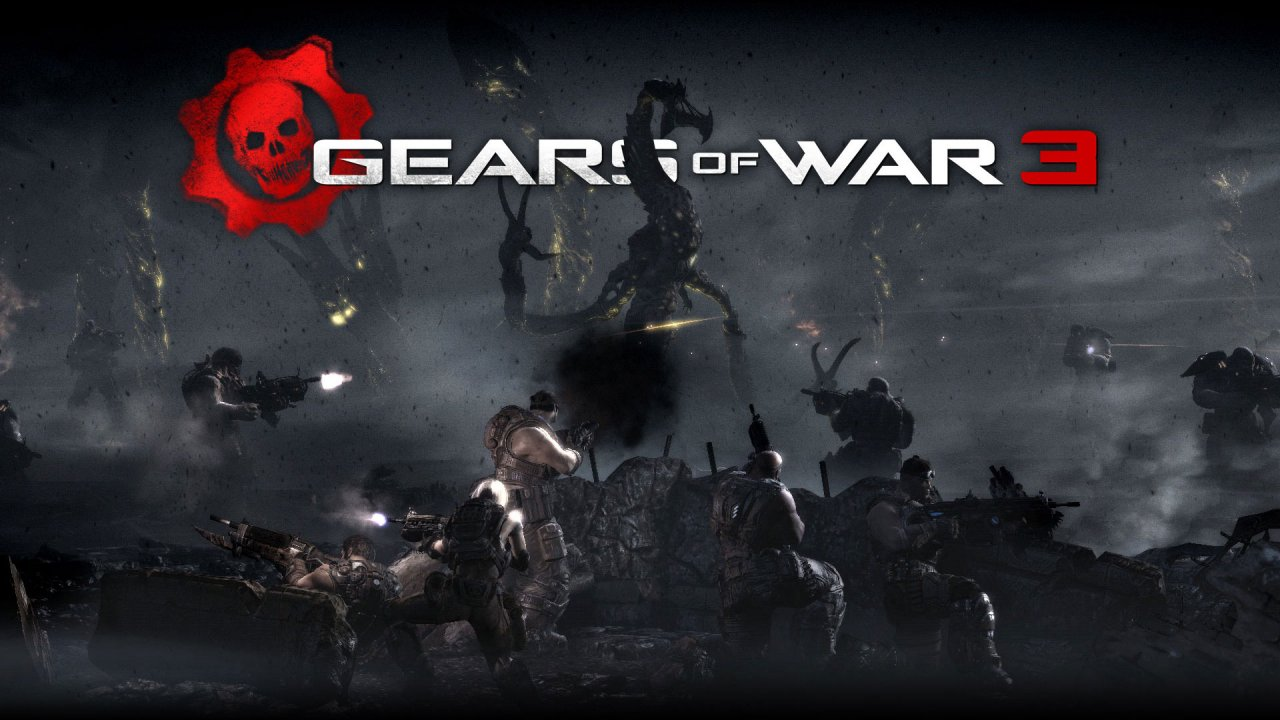 Gears of War HD & Widescreen Wallpaper 0.48840893179187