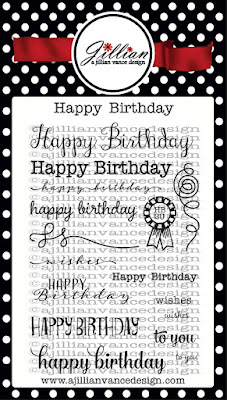 Happy Birthday Stamp Set
