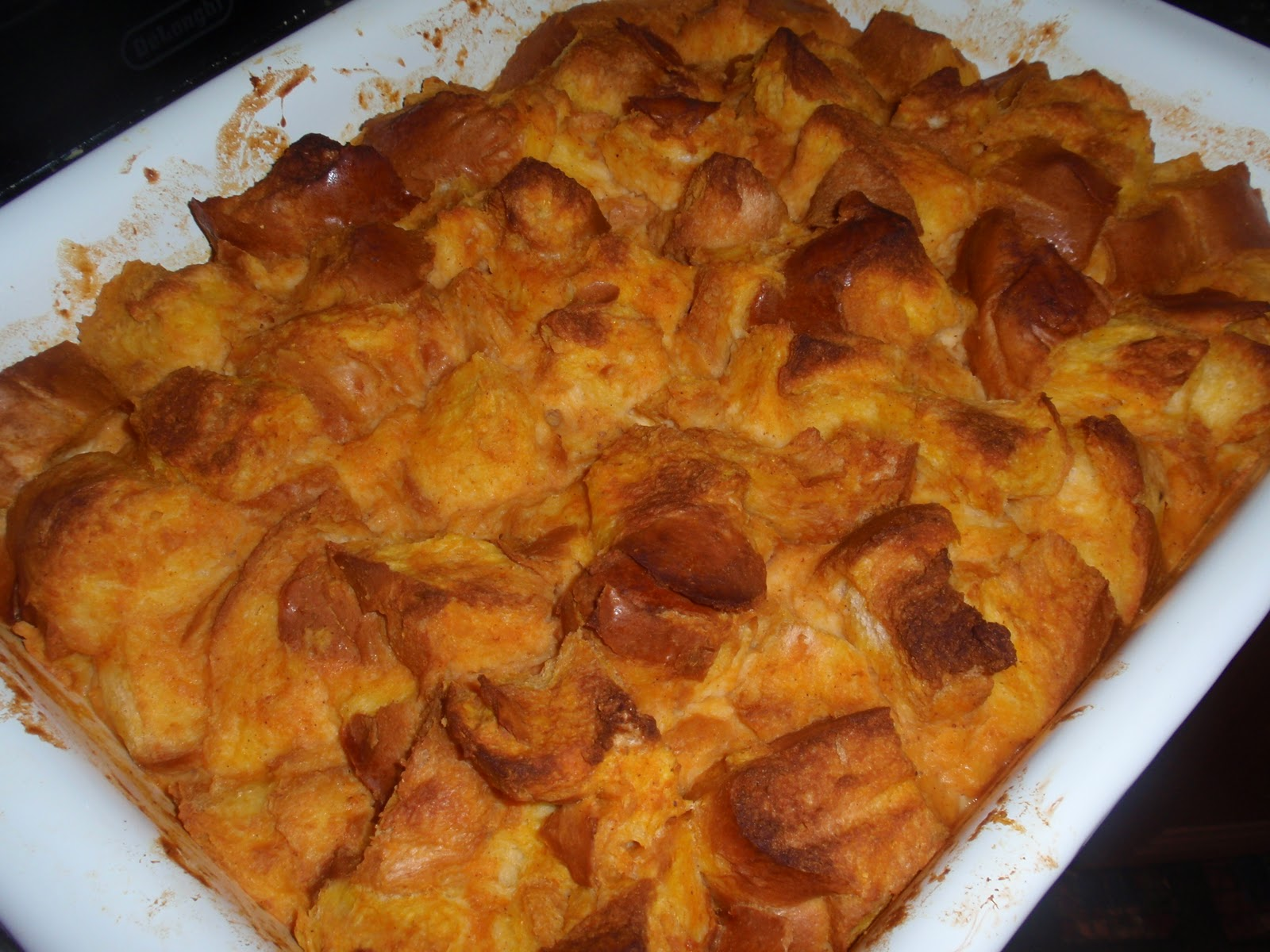 My Italian Grandmother: Pumpkin Bread Pudding