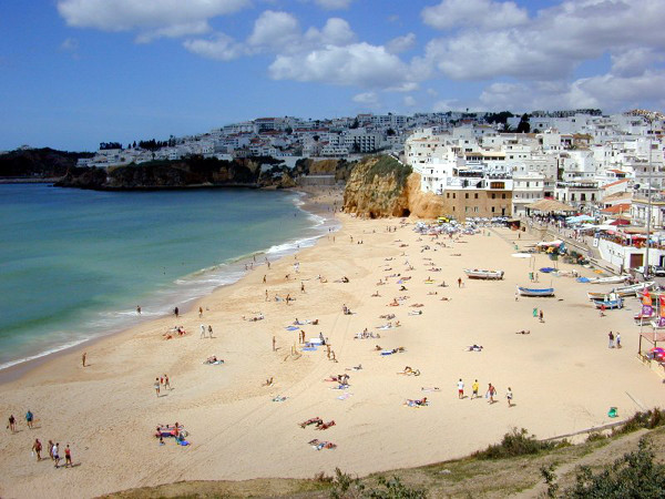 Beautiful Beach at Albufeira