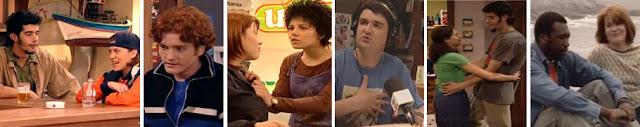 Isabel Naveira, Nacho Castaño, Xurxo Souto, actores de Mareas Vivas