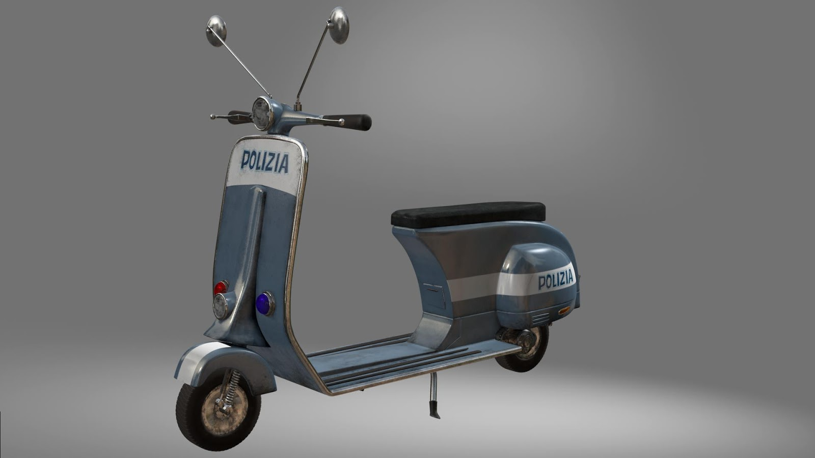 Surfacing - police scooter -- Madagascar 3 | Kevin Turcotte Art: kevinturcotteart.blogspot.com/2013/02/police-scooter-madagascar-3...