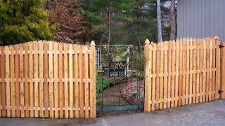 Деревянный забор. Фото 34