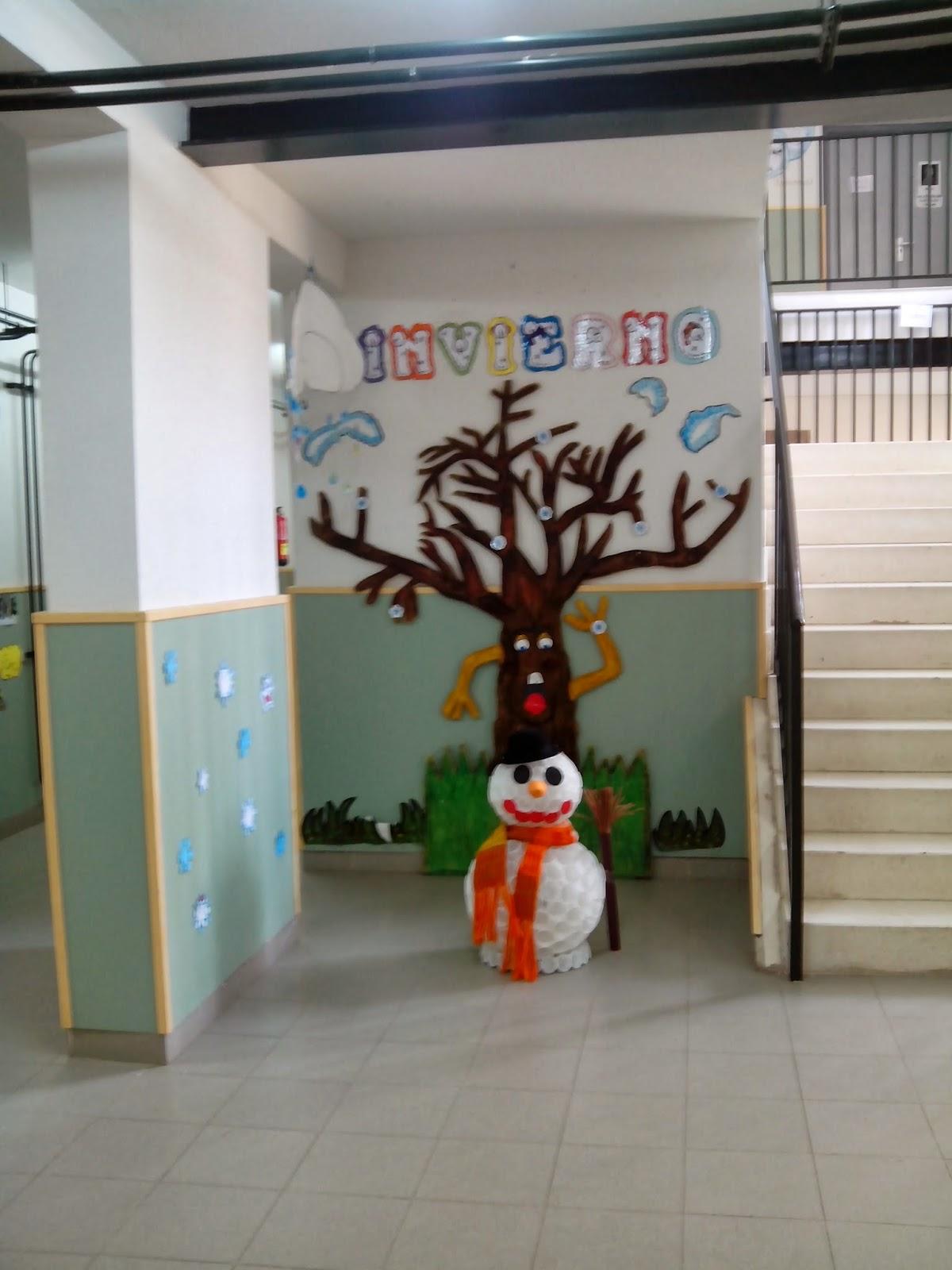 Educaci n infantil decoraci n invierno for Decoracion de aula para navidad