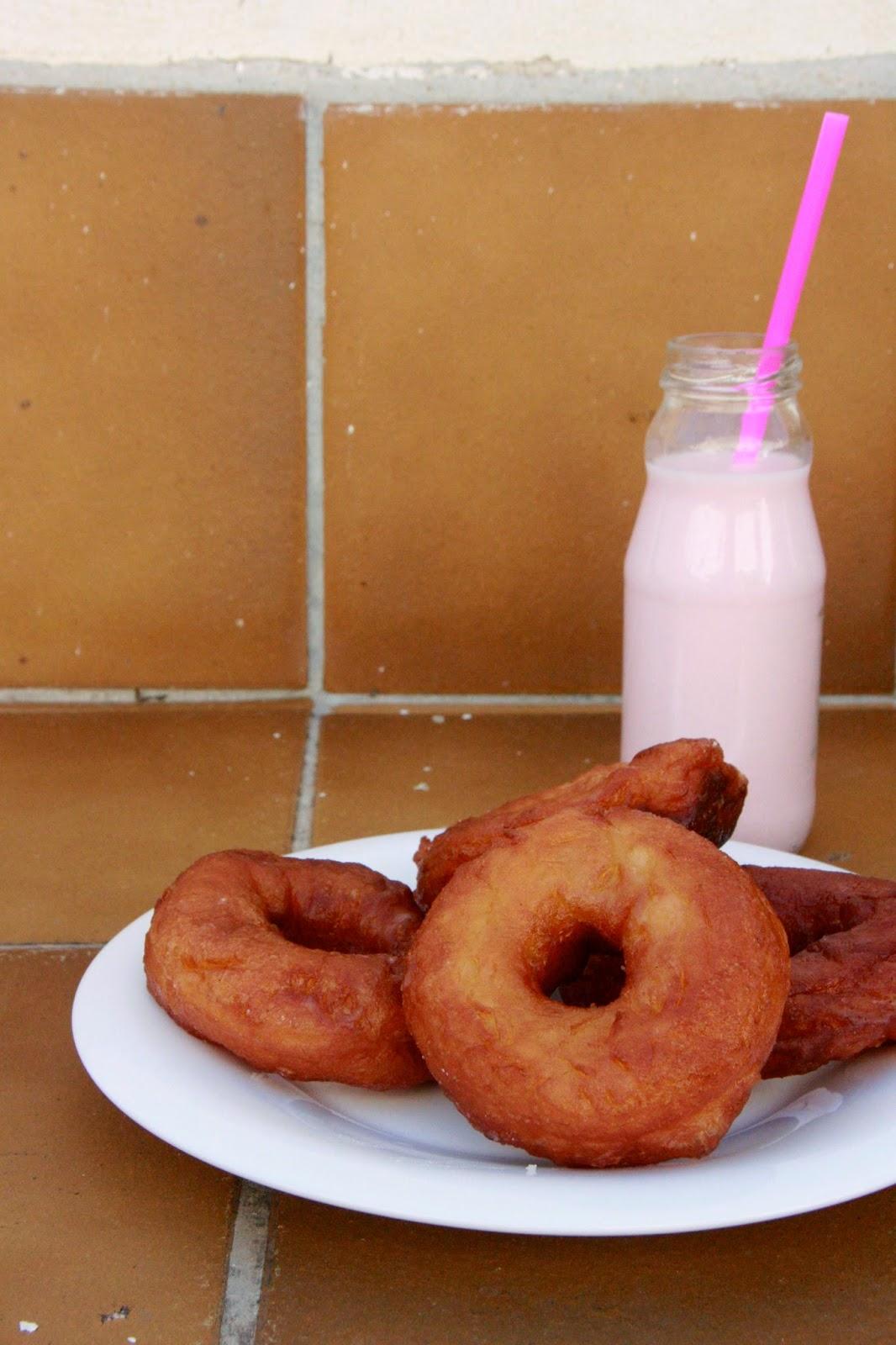 Doughnuts casolans per esmorzar