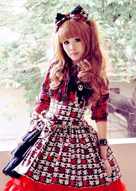 Doll Delight - Punk Lolita - Sweet Skulls