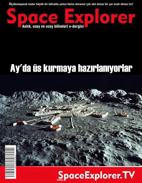 ay, Ay'da su, Ay'da üs, Ay'daki antik şehir, Ay'daki gizli üsler, videolar,
