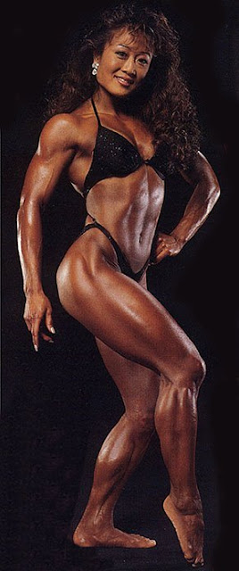 Dale Tomita - Female Fitness Competitors
