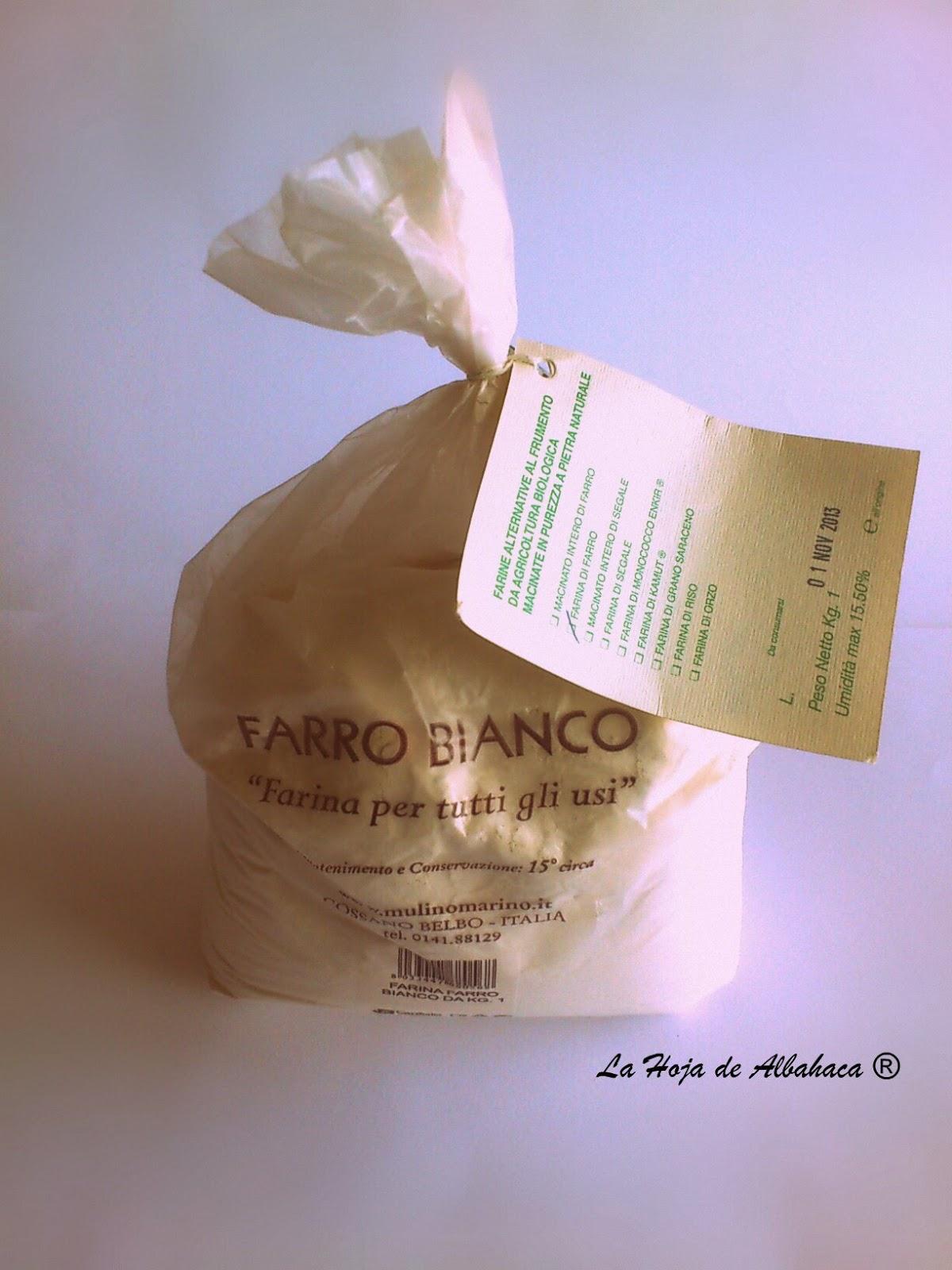 harina ecológica, espelta blanca, Mulino Marino