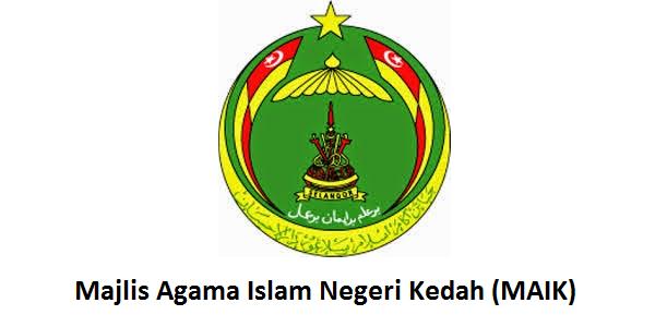 Jawatan Kerja Kosong Majlis Agama Islam Negeri Kedah (MAIK) logo www.ohjob.info mac 2015