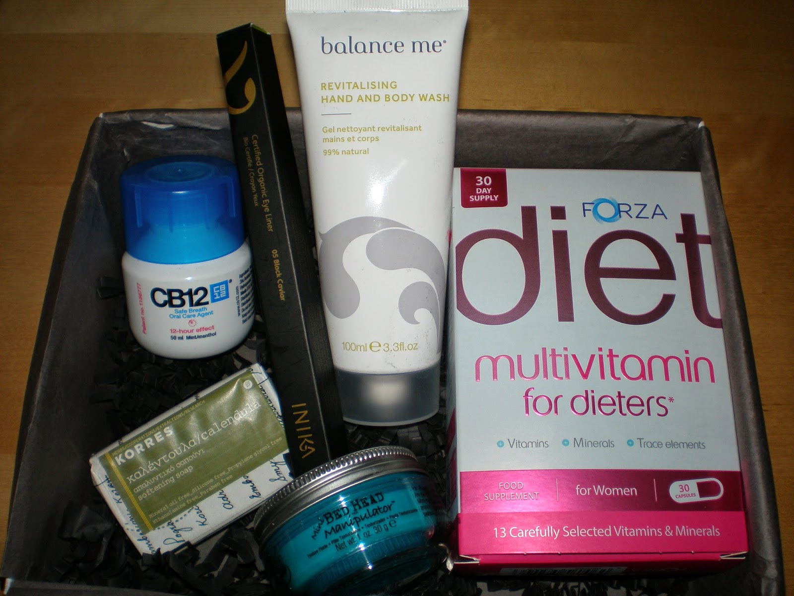 Lookfantastic April 2015 beauty box contents