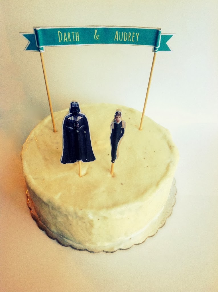 HEARTCORE: D.I.Y. Wedding cake Toppers