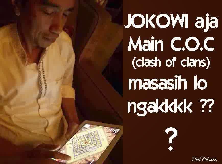 DP BBM Meme Jokowi Main COC