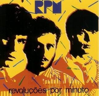Capa do CD RPM - Revoluções por Minuto