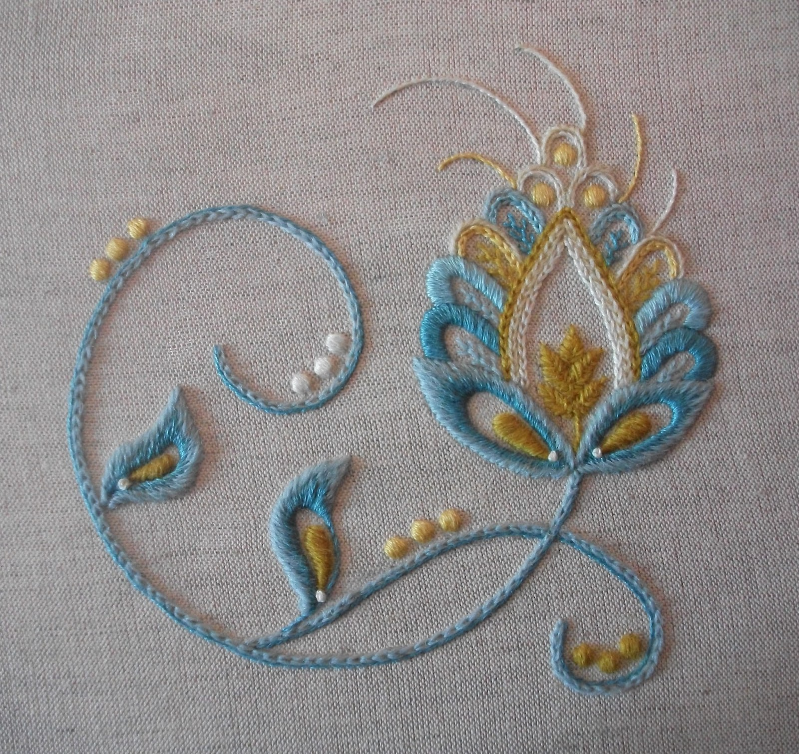 News from vine embroidery new mixed thread kits