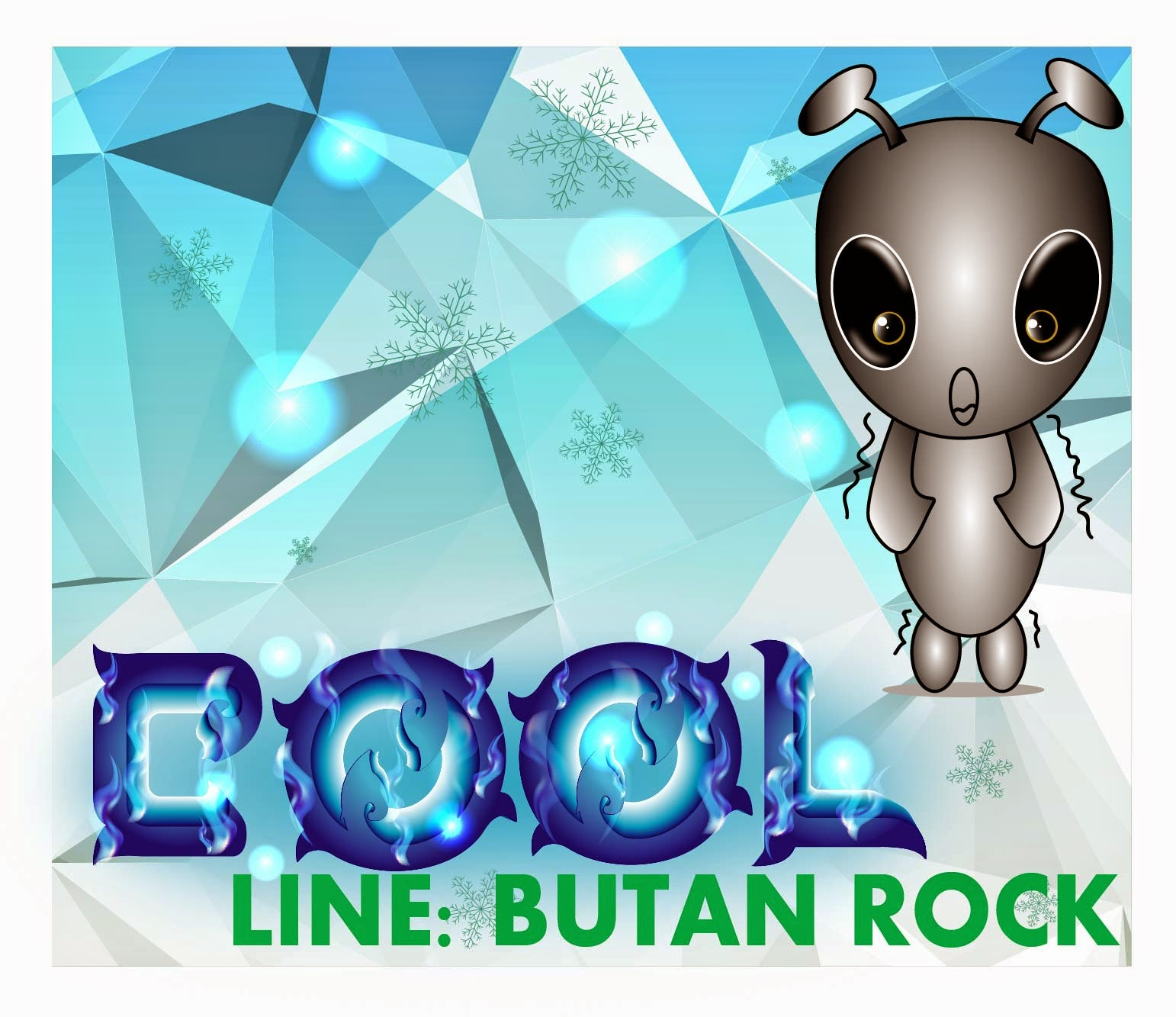 Get line stickers Butan Rock