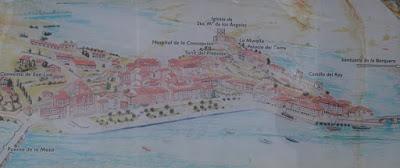 Planol de San Vicente de la Barquera