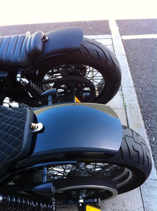 Rocket Bobs Cycle Works Bolt On Fender For Harley