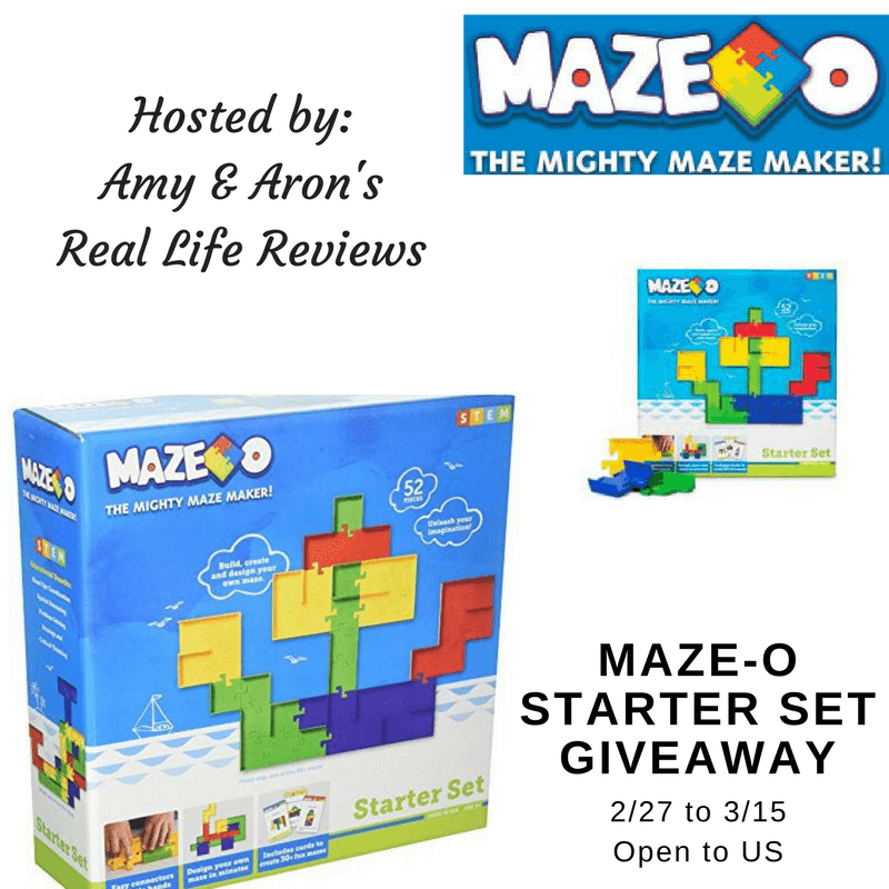 Maze-O-Starter Giveaway