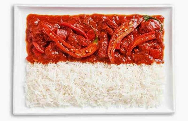 Indonesia - Spicy curries and rice (Sambal)