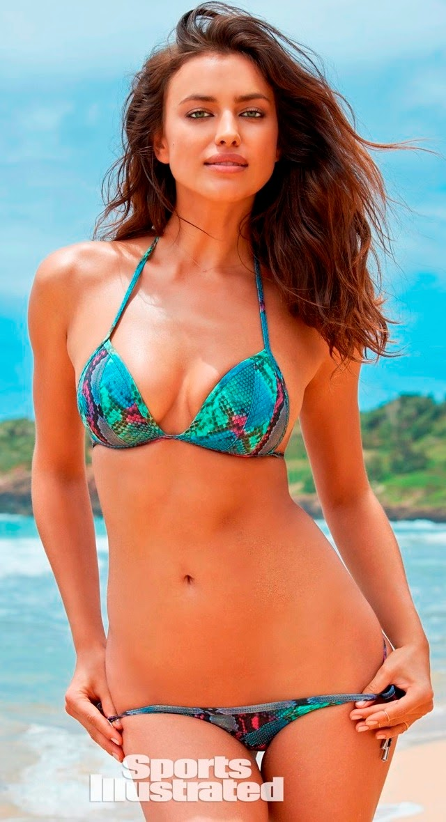 Irina Shayk en nuevo topless para Sport Illustrated Swimsuit