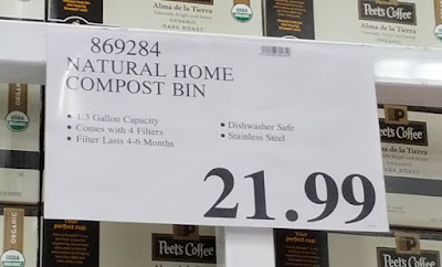 Deal for the Natural Home Kitchen Compost Bin at Costco