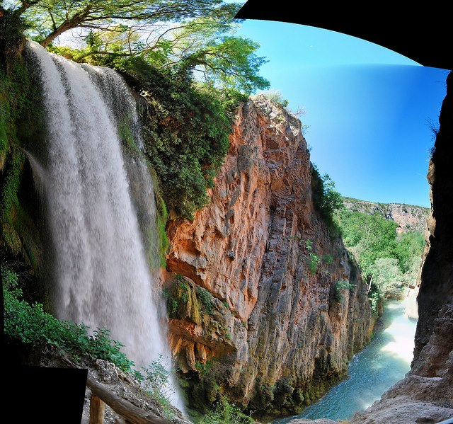 Places To Travel In December 2015: Mindblowing Planet Earth: Horsetail Falls,Monterrey,Mexico